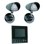 1. Überwachungskamera mit Monitor