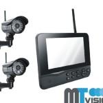 2. Überwachungskamera mit Monitor
