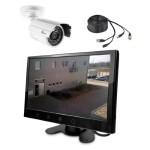 4. Überwachungskamera mit Monitor